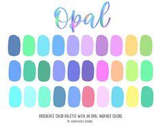 Color Schemes Colour Palettes, Pastel Colour Palette, Colour Pallette, Color Palate, Color Combos, Types Of Color Schemes, Google Drive, Palette Art, Illustration Mode