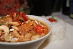 Oksekød i rød karry – Thai eksperimenter.