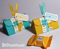 Colorworxx: Die Dreiecksverpackung als Workshop-Goodie