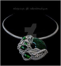 Unicomplex Hive necklace by Faeriedivine on DeviantArt