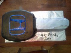 Honda car key birthday cake