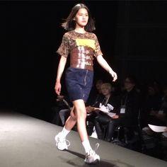 ケイスケヨシダのコレクション#ACROSS #PARCO  #2016SS #jfw #Japan #Tokyo #東京国際フォーラム #fashion #moda #mode #時尚 #ファッション #fashionshow #catwalk #runway #soshiotsuki #akikoaoki #keisukeyoshida #tokyonewage #東京ニューエイジ  #ピッグスキン #pigskin #mikiosakabe #jennyfax #レザー by web_across
