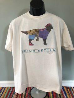 8006ba58 80 Hippie Dog Trend Setter Shirt Vintage Tee Peace Flower Child Power  Summer of Love Woodstock Funny Cartoon Art Lsd Trip Jerzees XL