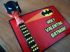 batman valentine cards | ... the NIGHT before Valentine's but there's always next year, right