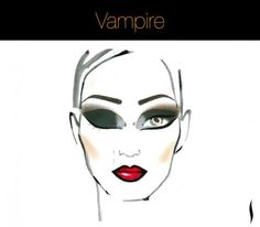 I have to admit, I am totally last minute when it comes to Halloween. In case you are a slacker like me, I found quick and simple Halloween make-up tutorials Halloween Vampire, Halloween Makeup Looks, Halloween Fun, Halloween Costumes, Princess Face, Theatrical Makeup, Kiss Makeup, Costume Makeup, Hair And Nails