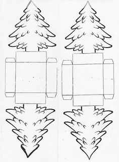 Christmas coloring pages: activities for kindergarten like me, step by step handicrafts, creativity Christmas Origami, Christmas Gift Wrapping, Christmas Crafts, Christmas Decorations, Christmas Ornaments, Noel Christmas, Christmas Templates, Christmas Printables, Diy And Crafts