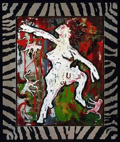 """The rape of Bigarschol - Ancestor II The artist wrote: """"In 1995 Iman and I took our first trip to South Africa."""
