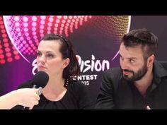 Eurovision 2015 Czech Republican Marta and Vaclav speaks to ESCin5.com - YouTube Eurovision 2015