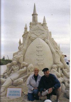 Superbowl Sand Sculpture