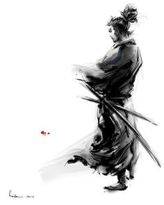Miyamoto Musashi. To say he's epic is an understatement.