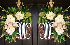 Double Door Wreaths