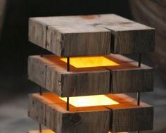 Cute Simple Wooden Floor Lamp