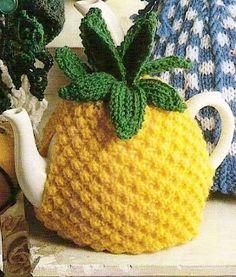 Fruity tea cozy. Cute.