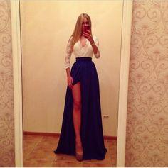 Aliexpress.com : Buy mel nova moda moda 2014 escritório vestido mulheres casuais saia saia longa from Reliable vestidos backless suppliers on Honey Co. Ltd.
