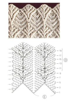 High quality crochet patterns and intricate and pretty crochet products for sale Leaf Stitch Crochet Pattern Leaf Stitch Crochet Pattern - Video is in Spaniish, but illustrations will instruct., Discover thousands of images aboLearning new crochet stitche Crochet Scarf Diagram, Crochet Lace Scarf, Crochet Motifs, Crochet Stitches Patterns, Crochet Chart, Free Crochet, Stitch Patterns, Knitting Patterns, Scarf Patterns
