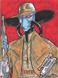 Cad Bane by ThanhBui714