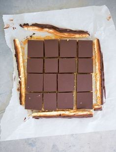 The Ultimate Caramel Shortbread from James Morton's How Baking Works cookbook. It's not often that I am arrogant enough to believe that my recipe should be the standard on which all others are based. But here I am saying just that. It's not only the best caramel shortcake I've ever had, but I've gone to great pains to keep the steps and ingredients very simple, too.