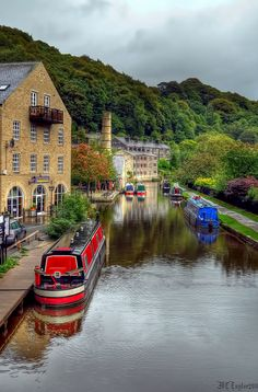 Rochdale Canal at Hebden Bridge   Flickr - Photo Sharing!