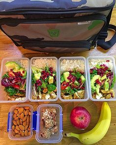 "Ideal example how you start bulking season! Meal prepped by @ro__bas__ and legit camo print lunch box bag from @fitmarkbags :::::::::::::::::::::::::::::::::::::::::"" Meals for work are done Slowly rising my kcal intake up to 5000kcal a day as planned bulking season in full swing 180g of basmati rice cooked and 100g grilled chicken in each one with salad leaves and some raw protein bars . Be yourself Be consistent Be patience and you will succeed Happy Thursday beautiful people Much love…"