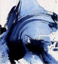 Kazuo Shiraga artwork