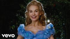 """Lily James - A Dream is a Wish Your Heart Makes (from Disney's """"Cinderella"""") - YouTube"""
