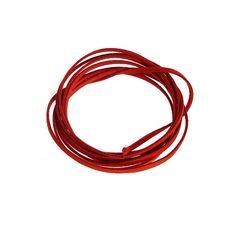 Micro Fiber Suede Strings, 3mm, Red