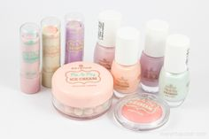 Essence Me & My Ice Cream Collection - Swatches & Review