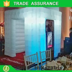 China supplier led inflatable photo booth cabina de <font><b>fotos</b></font>