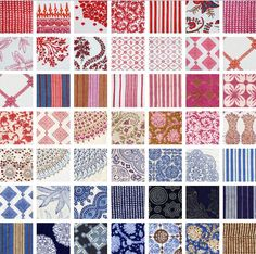 John Robshaw linens. The Indian block printed textiles are colorful and classic