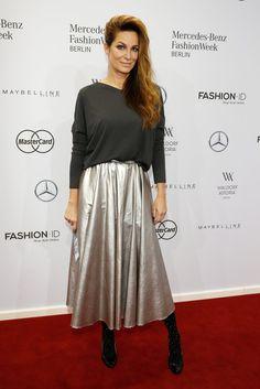 Alexandra Kamp bei der Modenschau von Minx by Eva Lutz | Alle Promis bei der Berlin Fashion Week Januar 2016 | POPSUGAR Deutschland Stars Photo 14