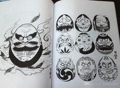 2016 100 Japanese Part2 Tattoos Books By Horimouja Jack Mosher A4 Vol.7 100 Japanese Design Sketch Flash Tattoo Book From Kimiwalker, $9.04 | Dhgate.Com