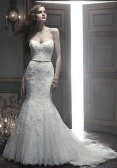 Amaré Couture by Crystal Richard B069 Mermaid Wedding Dress