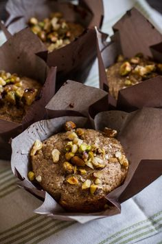 Cane Sugar Free, Gluten Free | Honey Kissed Baklava Muffins from Edible Perspective