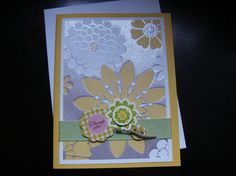 Common Greetings~flower card