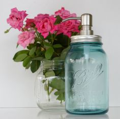 Frasco jabón dispensador pelota azul perfecto frasco bomba de jabón