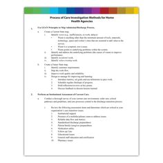 Process of Care Tool for Home Health Agencies - Qsource Home Health Agency, Home Health Nurse, Nurse Stuff, Neurology, State Map, Psychiatry, Social Work, Clinic, Psychology