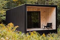 Project: Edifice - A Cedar Cabin Architects: Marc Thorpe Design Location: Fremont, New York, The Catskill Mountains, Appalachian Photographer: Marco Petrini Cabin Design, House Design, Design Design, Food Design, Design Ideas, Cedar Cabin, Off Grid Cabin, Cabin In The Woods, Tiny House Cabin