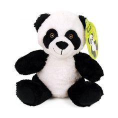 Pluche Panda zittend 15cm uit groothandel en import