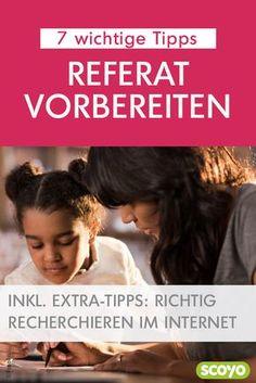 Vorbereitung ist alles, das gilt auch für Referate und Co. Denn wer gut gerüstet ist, kann viel entspannter einen Vortrag halten. 7 wichtige Referat-Tipps für Kinder und Eltern.