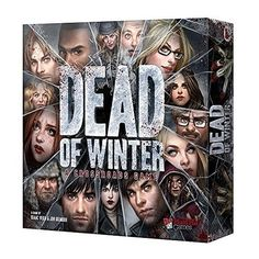 Dead of Winter - A Crossroads Game by Plaid Hat Games - a board game about surviving the humans around you while keeping frostbite, and zombies, at bay. Dice Games, Fun Games, Games To Play, Playing Games, Geek Games, Zombies, Cthulhu, Best Zombie, Best Horrors