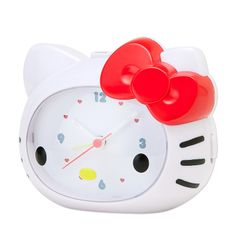 Hello Kitty Face-shaped clock Sanrio online shop - official mail order site