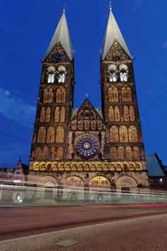 Cathedral in Bremen, Germany