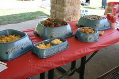 The Small Town Soiree: Puppy Party cute food names