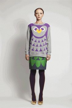 owl jumper by romance was born