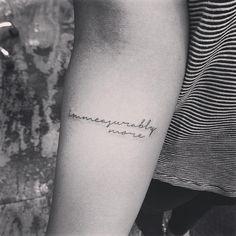 c/s Jon Boy p/v sur Instagram : immeasurably more #hillsongnyc #jonboytattoo