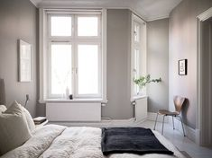 Fresh and inviting spacious apartment Bentwood Chairs, Wood Arm Chair, Minimalist Home Decor, Slow Living, White Tiles, House Goals, Decorating Blogs, Wall Colors, Living Spaces