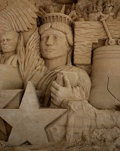sand sculpture by truan