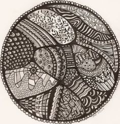 doodle easy doodles drawings sharpie patterns zentangle simple 2d embroidery