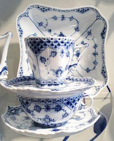 Royal Copenhagen Blue Lace Pattern