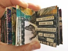 mini journal // by bun blog - artist: Roxanne Coble